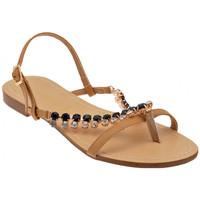 Schoenen Dames Sandalen / Open schoenen F. Milano  Beige