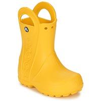 Schoenen Kinderen Regenlaarzen Crocs HANDLE IT RAIN BOOT KIDS Geel