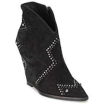 Schoenen Dames Enkellaarzen Ash JESSICA Zwart