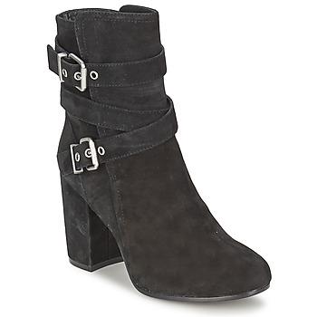 Schoenen Dames Enkellaarzen Ash FARGO Zwart