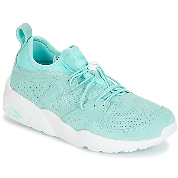 Schoenen Dames Lage sneakers Puma BLAZE OF GLORY SOFT WNS Blauw / Wit
