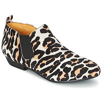 Schoenen Dames Laarzen Buffalo SASSY Leopard