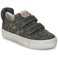 Schoenen Kinderen Lage sneakers Diesel JERMAN Grijs / Leopard
