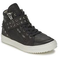 Schoenen Meisjes Hoge sneakers Diesel TREVOR Zwart