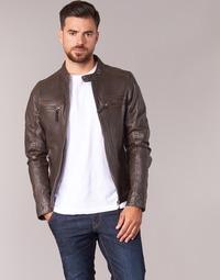 Textiel Heren Leren jas / kunstleren jas Oakwood 60901 Brown