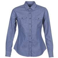 Textiel Dames Overhemden Yurban FERVINE Blauw