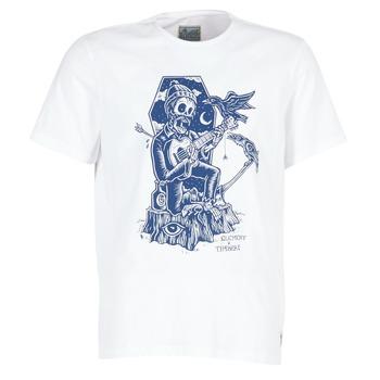 Textiel Heren T-shirts korte mouwen Element SERENADE SS Wit