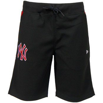 Textiel Heren Korte broeken / Bermuda's New Era MLB New York Yankees Short Diamond Era Zwart