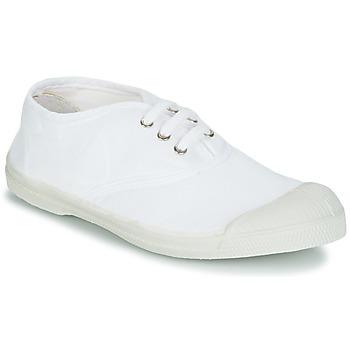 Schoenen Kinderen Lage sneakers Bensimon TENNIS LACET Wit