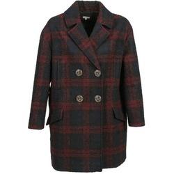 Textiel Dames Mantel jassen Manoush CABAN LAINE Marine / Bordeaux