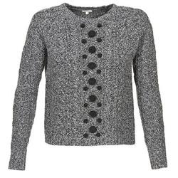 Textiel Dames Truien Manoush TORSADE Grijs / Zwart