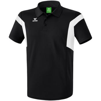 Textiel Heren Polo's korte mouwen Erima Polo  Classic Team noir/blanc