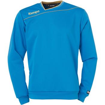 Textiel Jongens Sweaters / Sweatshirts Kempa Sweat training enfant Gold bleu