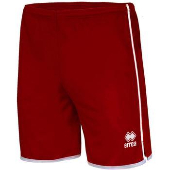 Textiel Heren Korte broeken / Bermuda's Errea Short  Bonn grenat