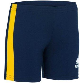 Textiel Dames Korte broeken / Bermuda's Errea Short femme  Amazon bleu marine/blanc