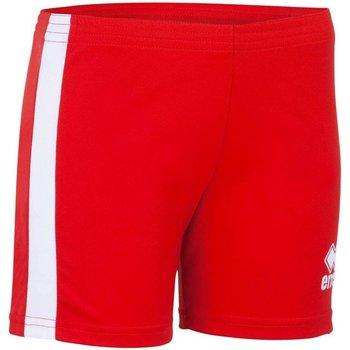 Textiel Dames Korte broeken / Bermuda's Errea Short femme  Amazon rouge/blanc