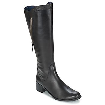 Schoenen Dames Hoge laarzen PintoDiBlu CARTIL Zwart