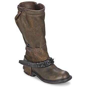 Schoenen Dames Hoge laarzen Airstep / A.S.98 RINETTE Brown
