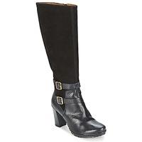 Schoenen Dames Hoge laarzen Hispanitas ARIZONA Zwart