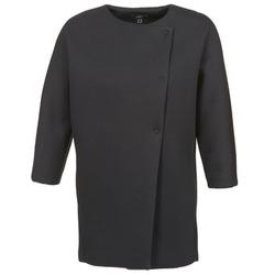 Textiel Dames Mantel jassen Mexx 6BHTJ003 Zwart