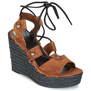 Schoenen Dames Sandalen / Open schoenen Sonia Rykiel 622908 Tabacco