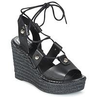 Schoenen Dames Sandalen / Open schoenen Sonia Rykiel 622908 Zwart