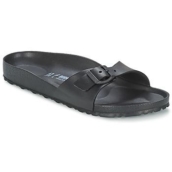 Schoenen Dames Leren slippers Birkenstock MADRID EVA Zwart