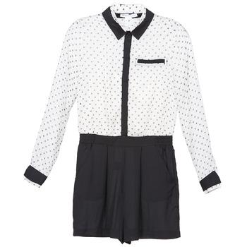 Textiel Dames Jumpsuites / Tuinbroeken BCBGeneration ANITA Wit