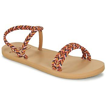 Schoenen Dames Slippers Roxy LUANA J SNDL MLT
