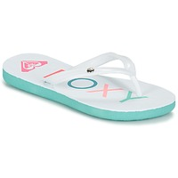 Schoenen Meisjes Slippers Roxy RG SANDY G SNDL WBL Blauw