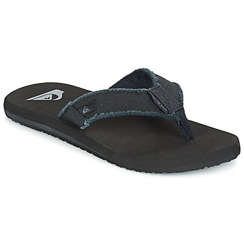 Schoenen Heren Slippers Quiksilver MONKEY ABYSS Zwart
