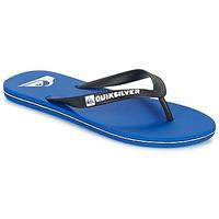 Schoenen Heren Slippers Quiksilver MOLOKAI Zwart / Blauw / Wit