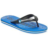 Schoenen Kinderen Slippers Quiksilver MOLOKAI NITROYT Zwart / Blauw