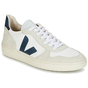 Schoenen Heren Lage sneakers Veja V-10 Wit