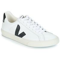 Schoenen Heren Lage sneakers Veja ESPLAR LOW LOGO Wit / Zwart