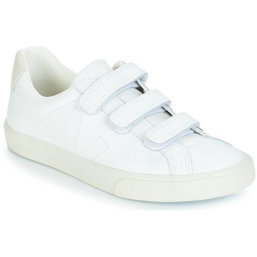 Schoenen Dames Lage sneakers Veja 3 - LOCK Wit