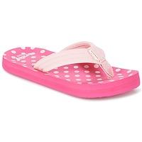 Schoenen Meisjes Slippers Reef LITTLE AHI Roze