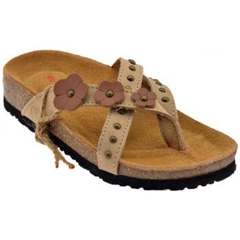Schoenen Dames Slippers Lumberjack  Beige