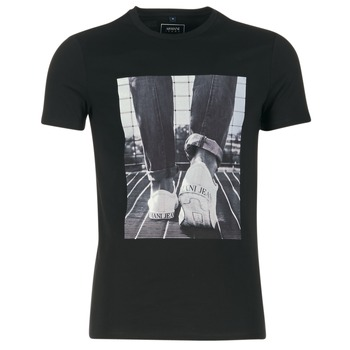 Textiel Heren T-shirts korte mouwen Armani jeans JANADORI Zwart