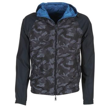 Textiel Heren Wind jackets Armani jeans MIRACOLA Grijs