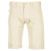 Textiel Heren Korte broeken / Bermuda's Armani jeans OFAGORA Beige