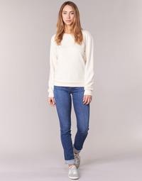 Textiel Dames Straight jeans Armani jeans HOUKITI Blauw