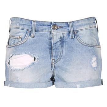Textiel Dames Korte broeken / Bermuda's Armani jeans JUTELAPO Blauw