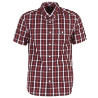 Textiel Heren Overhemden korte mouwen DC Shoes ATURA 5 SS Rood