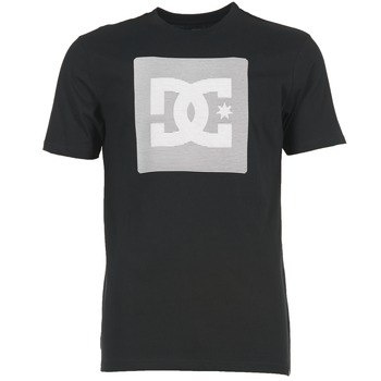 Textiel Heren T-shirts korte mouwen DC Shoes VARIATION SS Zwart / Grijs / Wit
