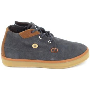 Schoenen Kinderen Hoge sneakers Faguo Wattle Suede BB Gris Grijs
