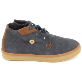Schoenen Kinderen Hoge sneakers Faguo Wattle Suede C Gris Grijs