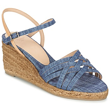 Schoenen Dames Sandalen / Open schoenen Castaner BETSY Blauw / Beige