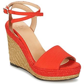 Schoenen Dames Sandalen / Open schoenen Castaner ADELA Rood