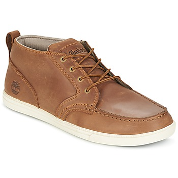 Schoenen Heren Lage sneakers Timberland FULK LP CHUKKA MT LEATHER Brown